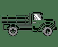 Organic Produce Truck