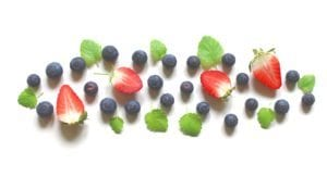 berry minty juice
