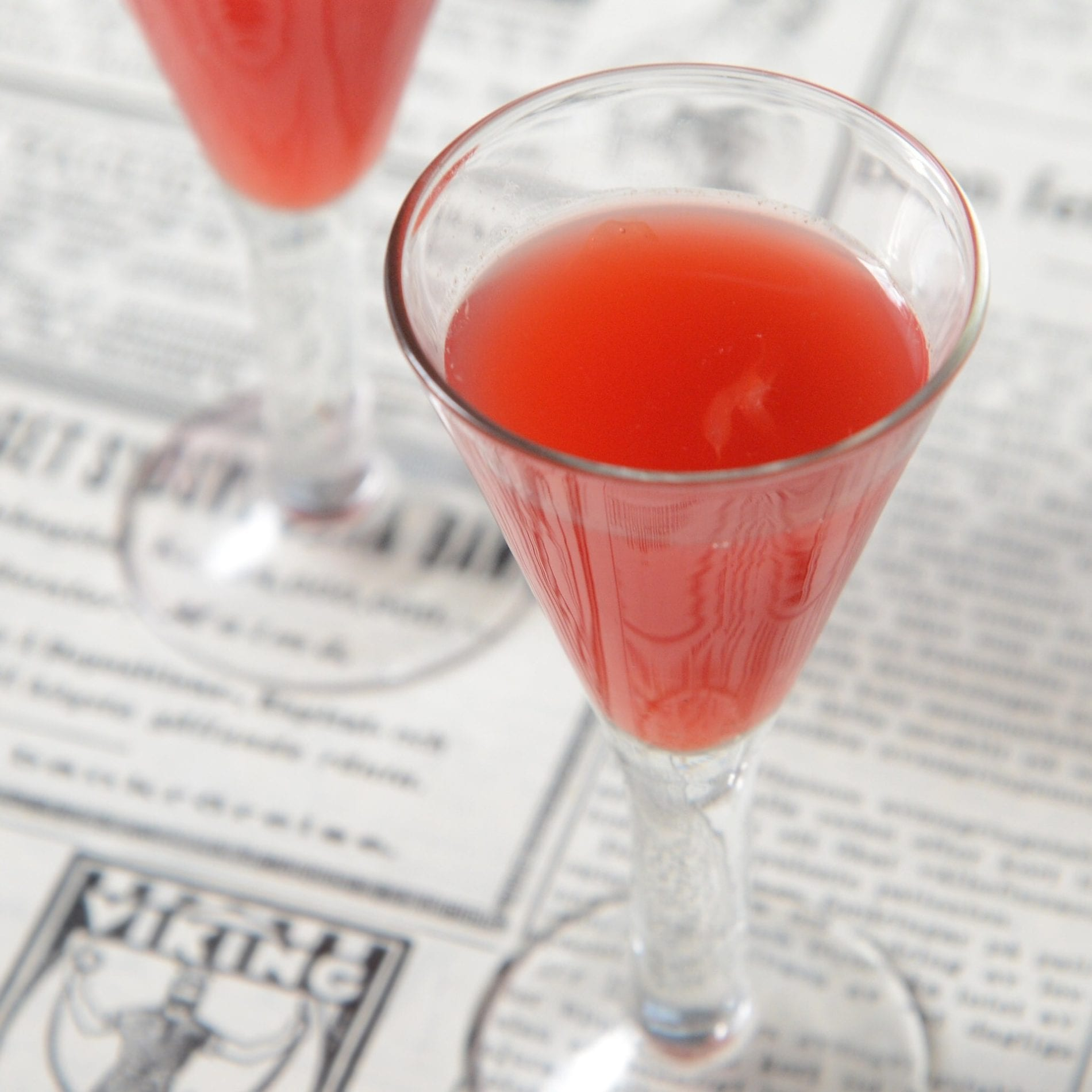 bloody berry juice