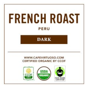 Cafe Virtuoso Coffee French Roast