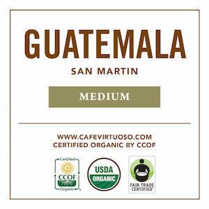 Cafe Virtuoso Coffee Guatemalan