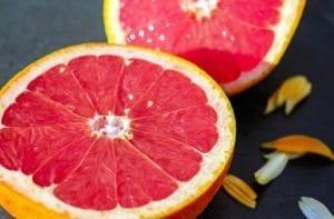 cucumber orange grapefruit