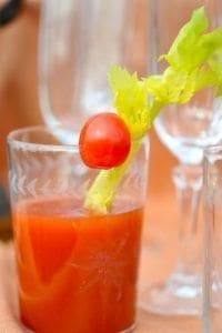 bloody mary juice - tomato juice