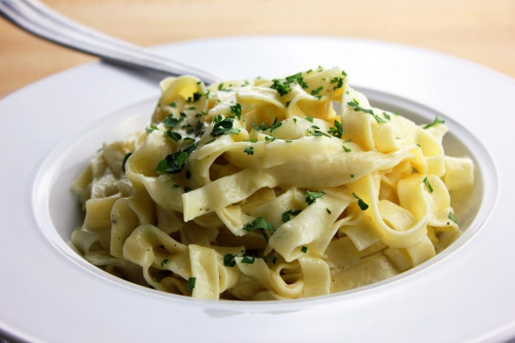 A Great Alternative to Fettuccine Alfredo Sauce