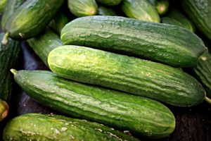 in this week's harvest-Cucumbers