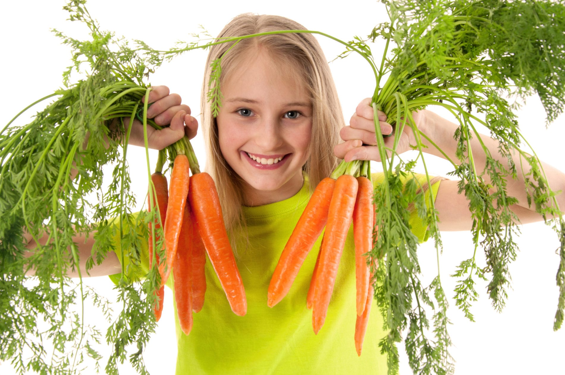 kids love veggies