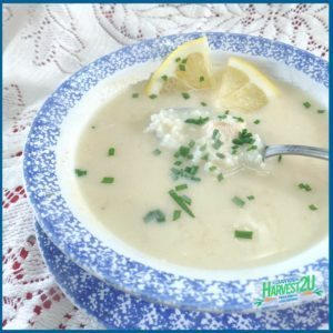 Avgolemono - Chicken and Rice Soup