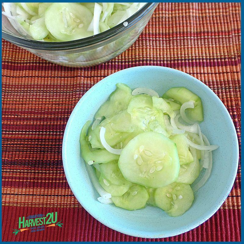 dairy free cucumber salad