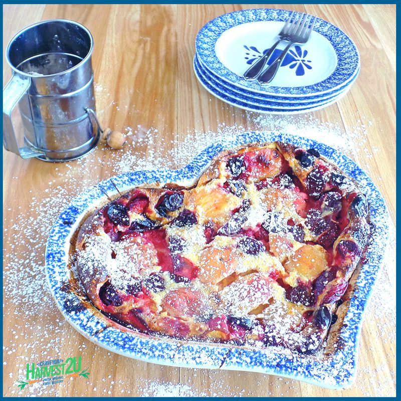 Summer Fruit Clafouti