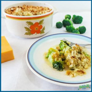 Broccoli Gratin - Pairing Broccoli and Cheddar Cheese
