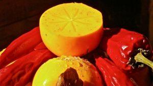 khaki persimmon