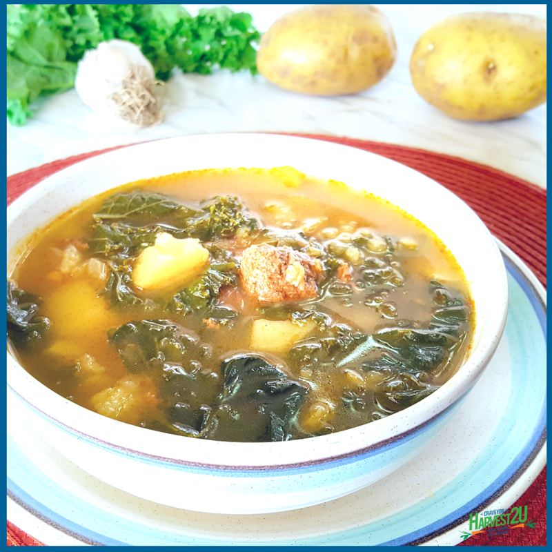 Caldo Verde - Potato and Kale Soup