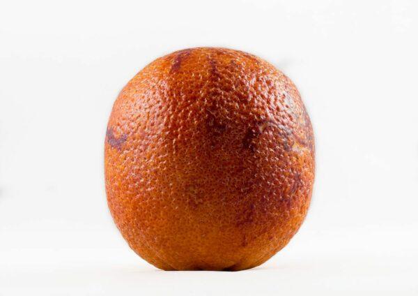 ripe blood orange