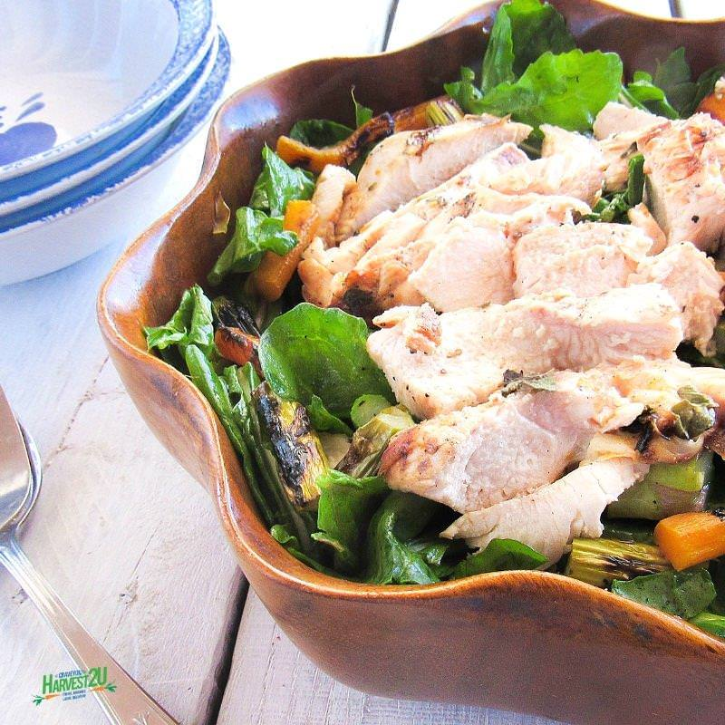 Lemon Herb Chicken Salad