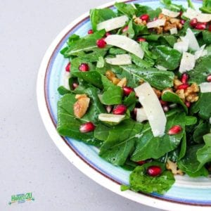 Arugula Pomegranate Salad