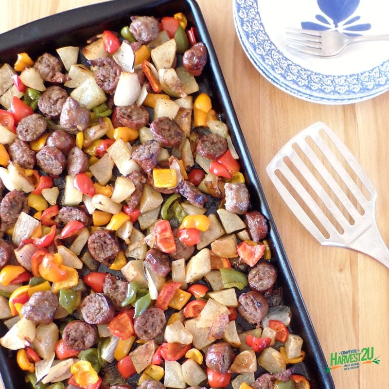 Sausage and Pepper Hash