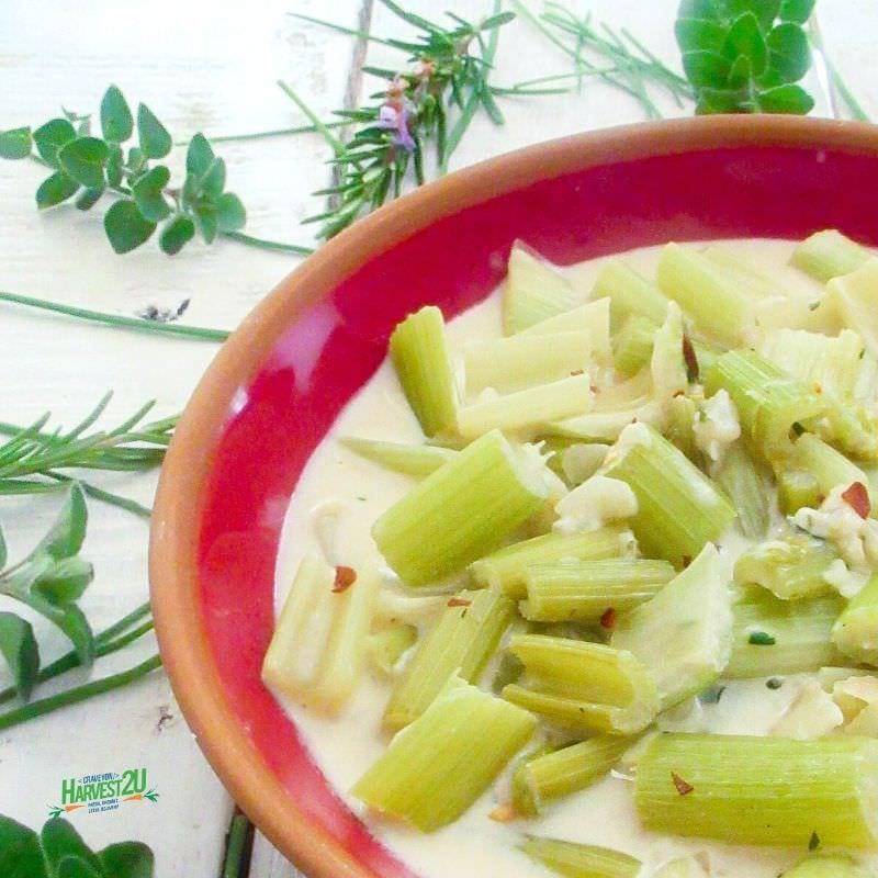 Keto Braised Celery