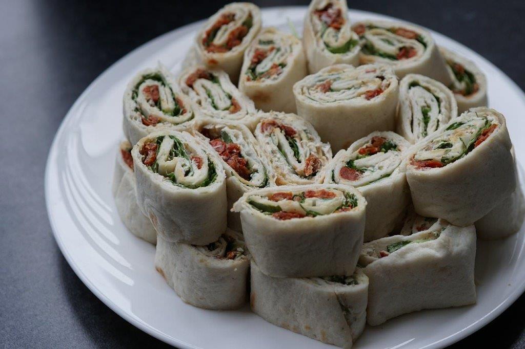 healthy lunch ideas - food wrap
