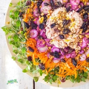 Microgreens and Tuna Salad