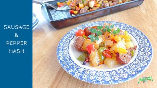 Vegetables for Breakfast - Hash it Up