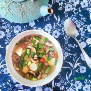 Daikon Radish Tofu Soup