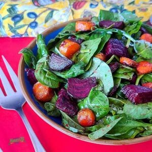 Roasted Carrot and Beet Salad