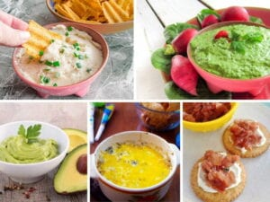 12 Fruit and Vegetable Based Dips