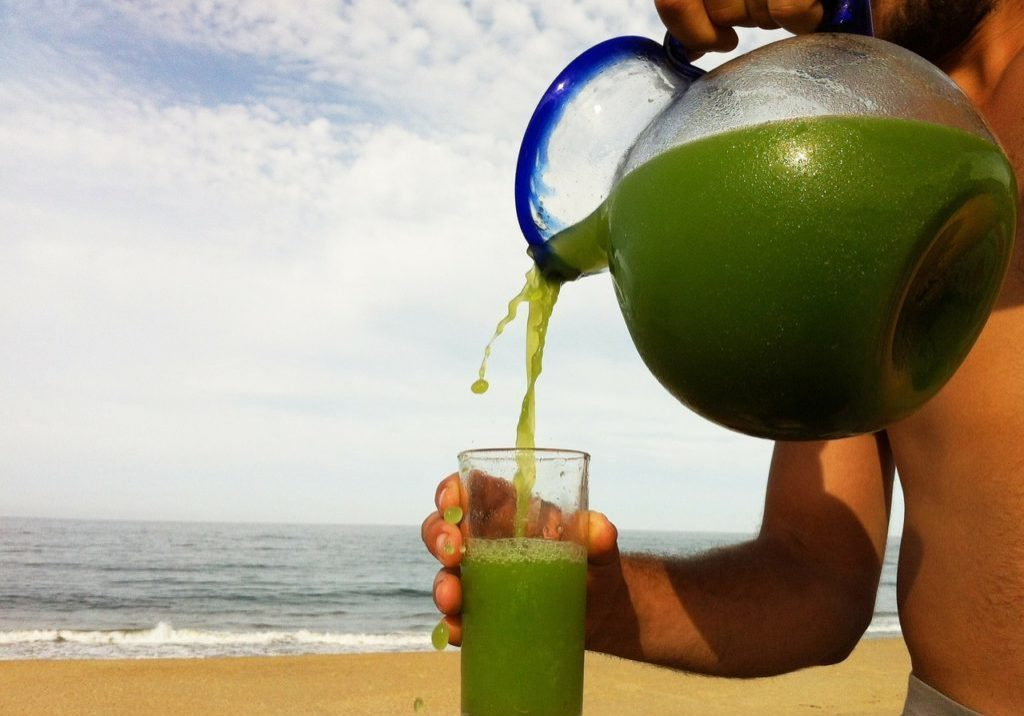 spinach watercress juice
