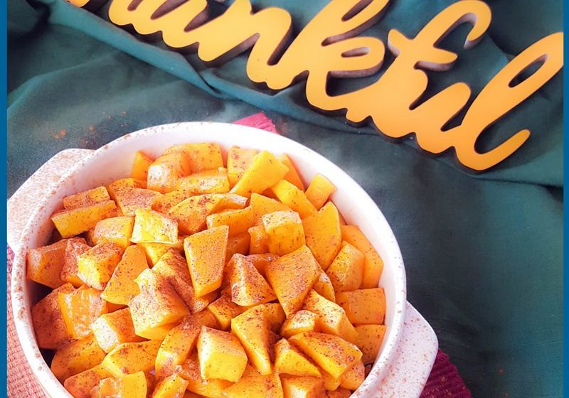 Maple Cinnamon Squash