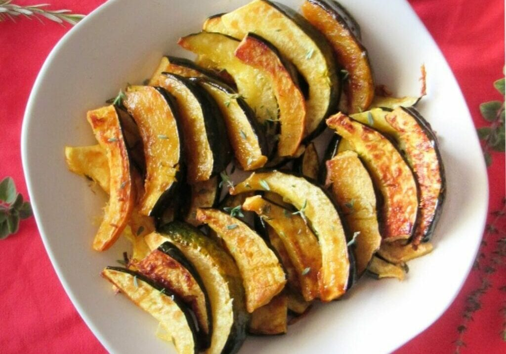 Spicy Maple Squash