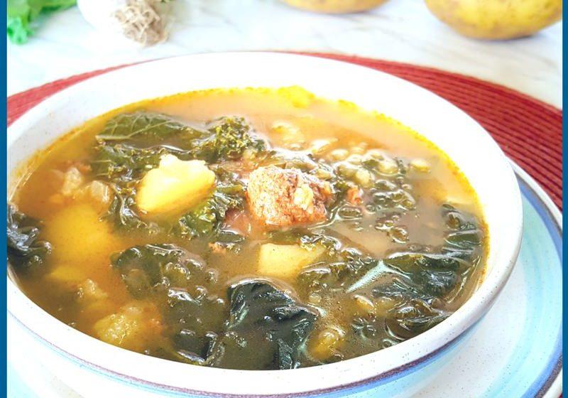 Caldo Verde - Potato and Kale Soup