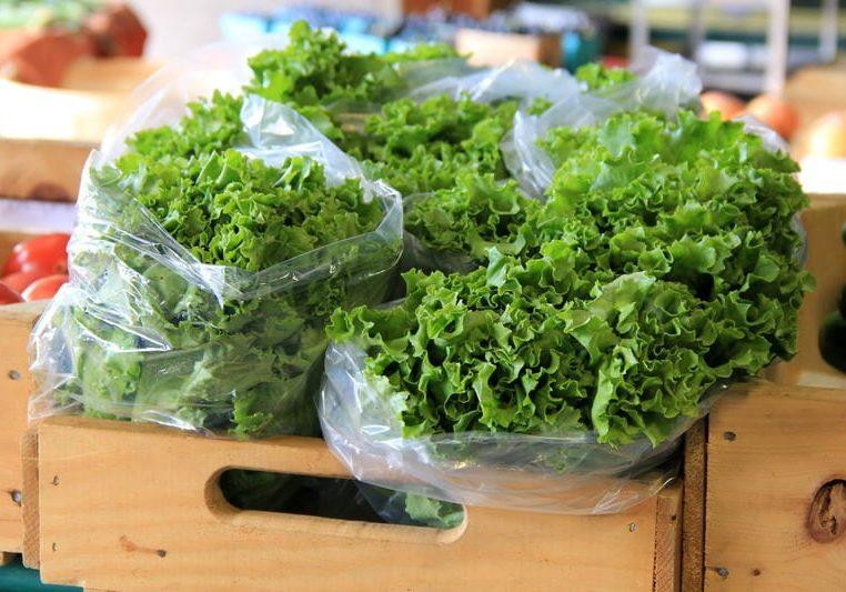 storing greens